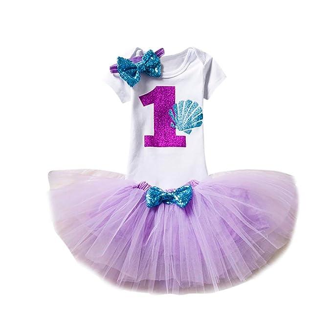 Amazon.com: titcool bebé niñas trajes de 1 años de edad ...