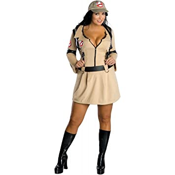 Ladies Ghostbusters 80s Fancy Dress Costume XL 16 18 20  sc 1 st  Amazon UK : 80s fancy dress costumes  - Germanpascual.Com