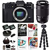 Fujifilm X-T20 Camera Body (Black) with XC 50-230mm F4.5-6.7 OIS II Lens and Corel Software Bundle