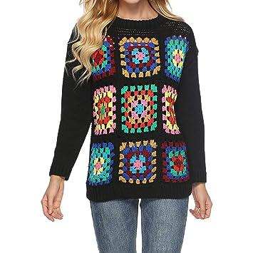 AOJIAN Women Hoodie Long Sleeve Geometry Print Jumper Sweater Sweatshirts Pullover at Amazon Womens Clothing store: