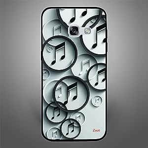 Samsung Galaxy A3 2017 BnW Music, Zoot Designer Phone Covers
