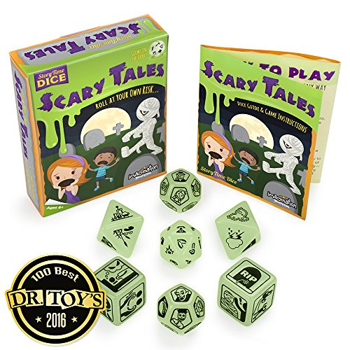 Story Time Dice: Scary Tales - Glows in the Dark! by Imagination -