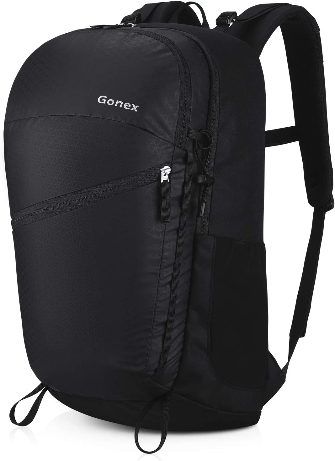 Gonex Travel Laptop Backpack 14inch, 35L Commuter Backpack Daypack for Office, School, Outdoor Activities Black