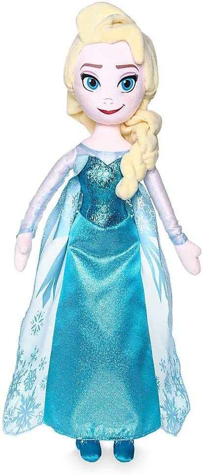 Amazon Com 20 Frozen Princess Elsa Collector Plush Stuffed Toy