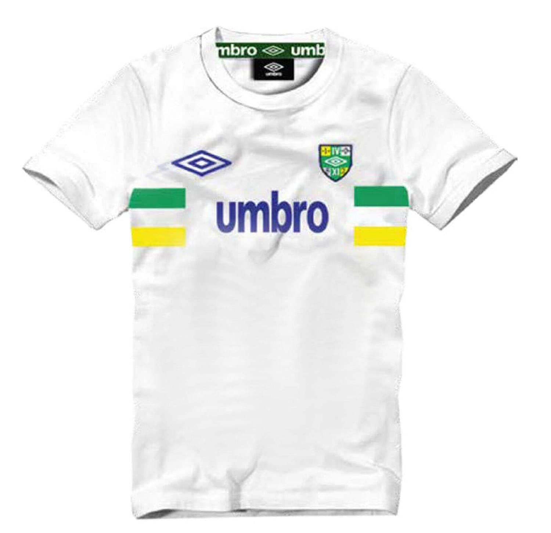 Umbro Camiseta ONE-T101S Brasil Mundial 2018 World Cup Algodón (XL ...
