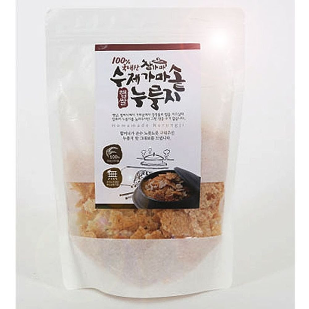 Handmade New rice Scorched 200g x 5 Korean by Chamgama