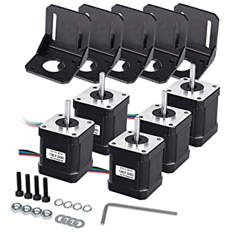 59Ncm Nema 17 Schrittmotor Motoren 1m Kabel Für 3D Drucker Reprap CNC Roboter