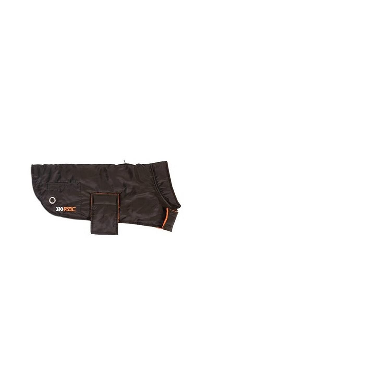 Black Large Black Large RAC Advanced Weatherproof Dog Coat With Plastic Bag Dispenser (L) (Black)
