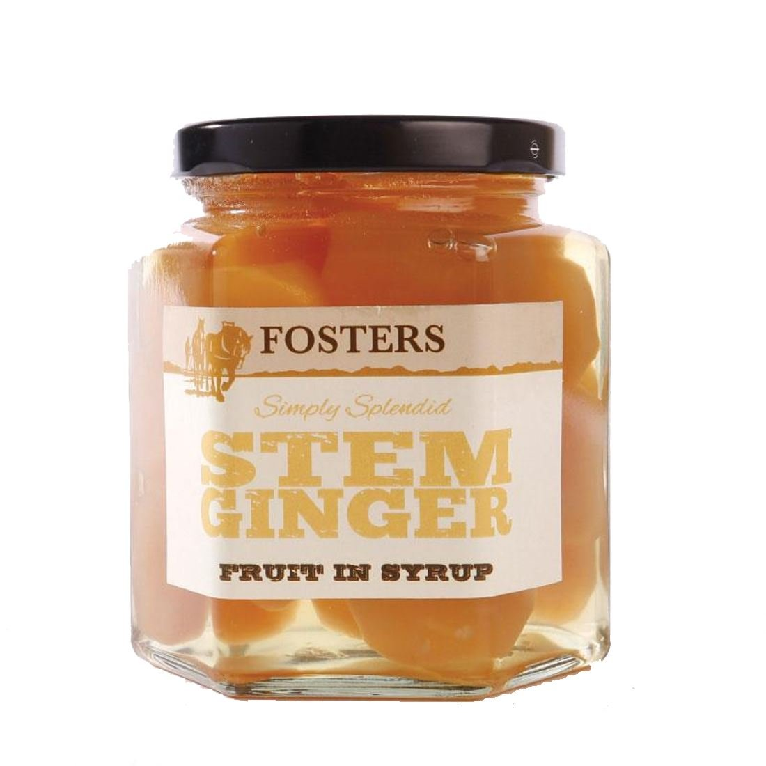 Fosters | Stem Ginger In Syrup | 3 x 280g
