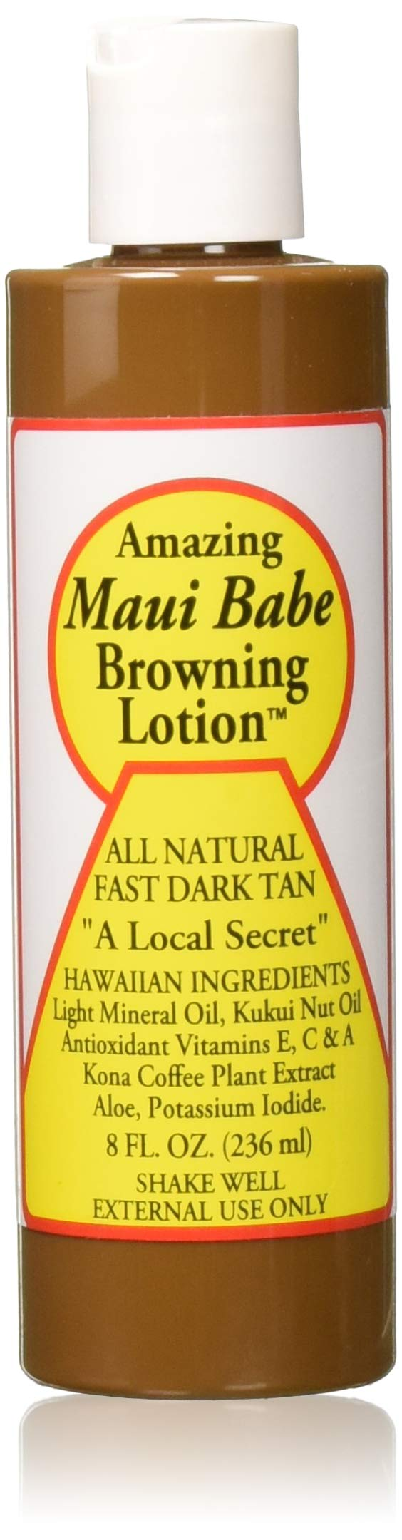 Maui Babe Browning Lotion 8 Ounces (Pack of 2) by Maui Babe
