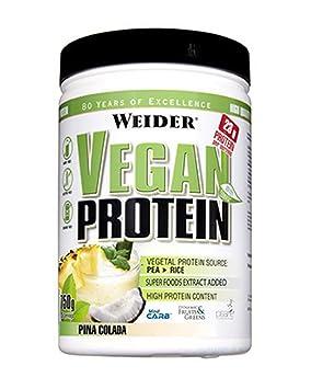 Weider WJW200103 Victory Vegan Protein Piña Colada 750 Gram: Amazon.es: Salud y cuidado personal