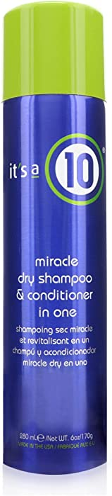 It's a 10 Haircare Miracle Dry Shampoo and Conditioner in One, 6 fl. oz.