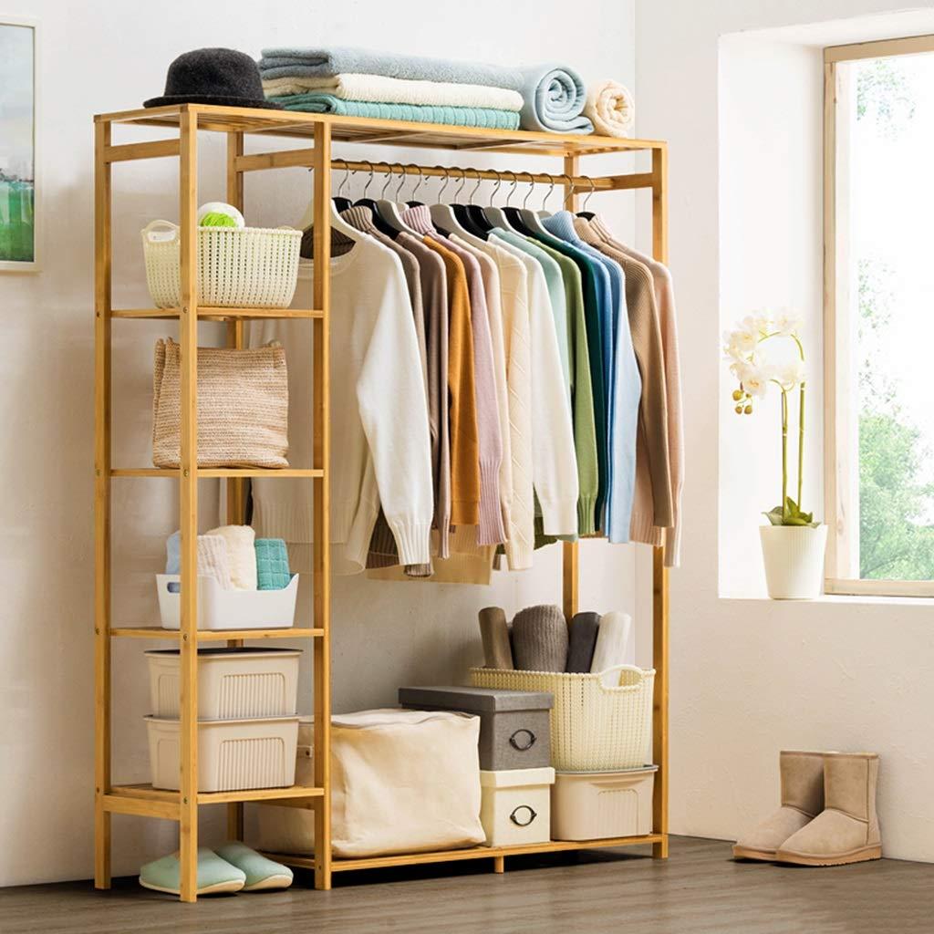 Amazon.com: Perchero de madera maciza para dormitorio o sala ...