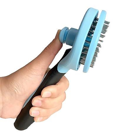 Cepillo de limpieza para perros y gatos, para eliminar el pelo de mascotas, peluquería