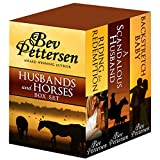 HUSBANDS AND HORSES (Boxed Set Romance Sports Mystery): Book One:  Riding For Redemption, Book Two:  A Scandalous Husband, Book Three: Backstretch Baby