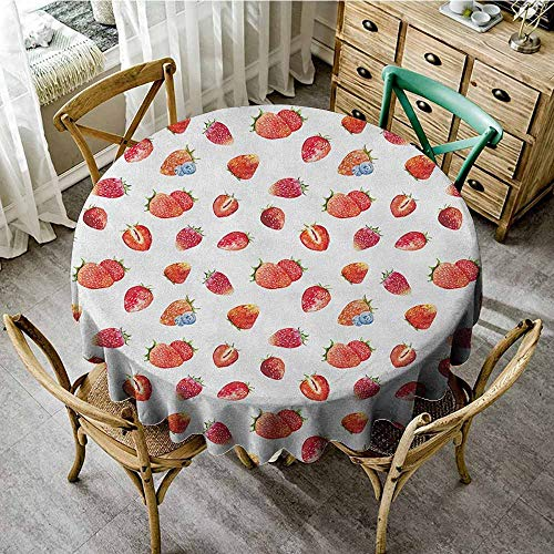 Rank-T Round Tablecloth Rustic 60