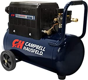 Campbell Hausfeld 8 Gallon Portable Quiet Air Compressor w/Shroud (AC080510)