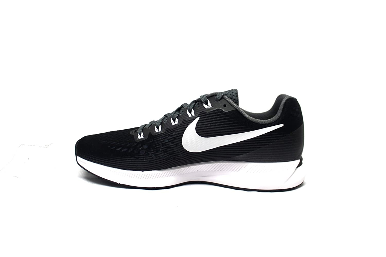 NIKE Women's Air Zoom Pegasus 34 Running Shoe B00CRWCQTM 11 B(M) US|Black/White/Grey