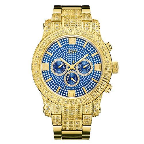 JBW Men's Lynx J6336C Multi Function Diamond Watch