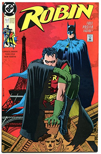 ROBIN #1, Batman, Dixon, Brian Bolland, 1991, NM , with Poster intact