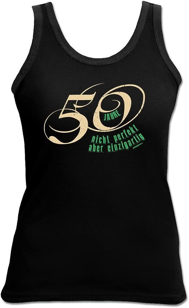 Mujer Top como regalo de 50 cumpleaños - 50 años y único ...