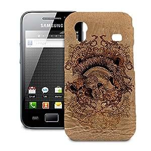 Phone Case For Samsung Galaxy Ace S5830 - Gladiator Fight or Die Designer Slim