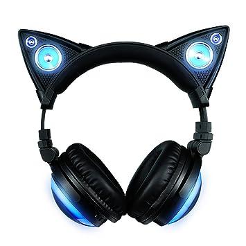Axent Wear 317857 Casque Audio Oreilles De Chat Bluetooth Sans