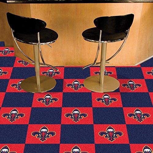 (Fanmats NBA - New Orleans Pelicans Team Carpet Tiles)