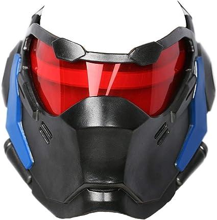 Soldier 76 Luminous Mask Prop Jack Morrison Helmet Game Cosplay Halloween Gift