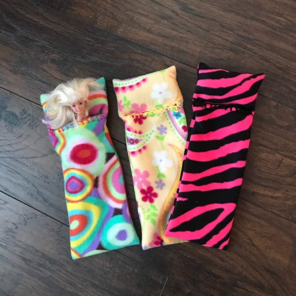Sleeping Bags for Barbie Dolls