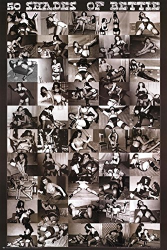 50 Shades of Bettie Page Poster 24 x 36in