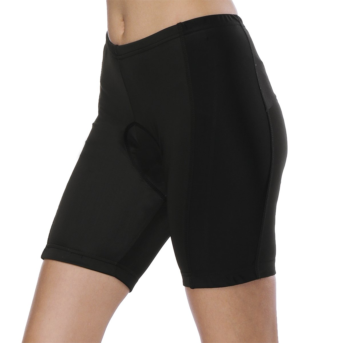 Womens Bike Shorts for Cycling with 3D Padded Pink Ride Women Cycling Shorts Black S