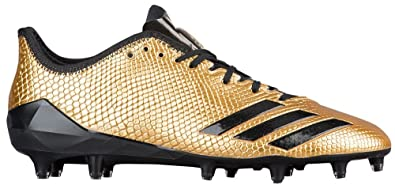 online retailer cc5eb ebfe0 adidas Adizero 5-Star 6.0 Gold Cleat - Mens Football 18 Gold MetallicBlack