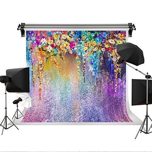 Kate 7 x 5ft Colorful Fantasy Background Colorful Flowers For Children Background Photo Fantasy