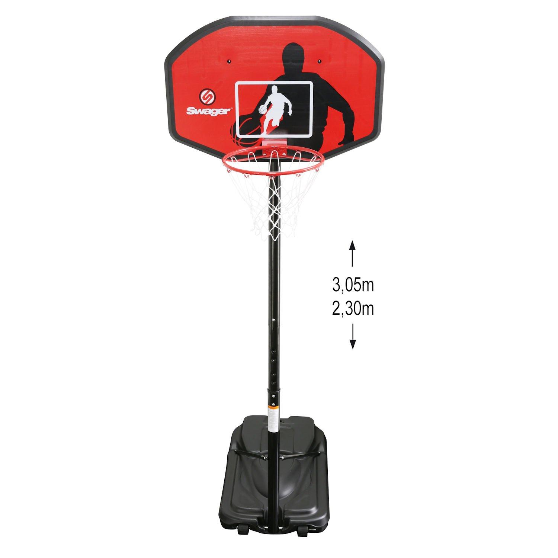 Canasta Basquetbol Swager The Classic - Altura ajustable de 2m30 à ...