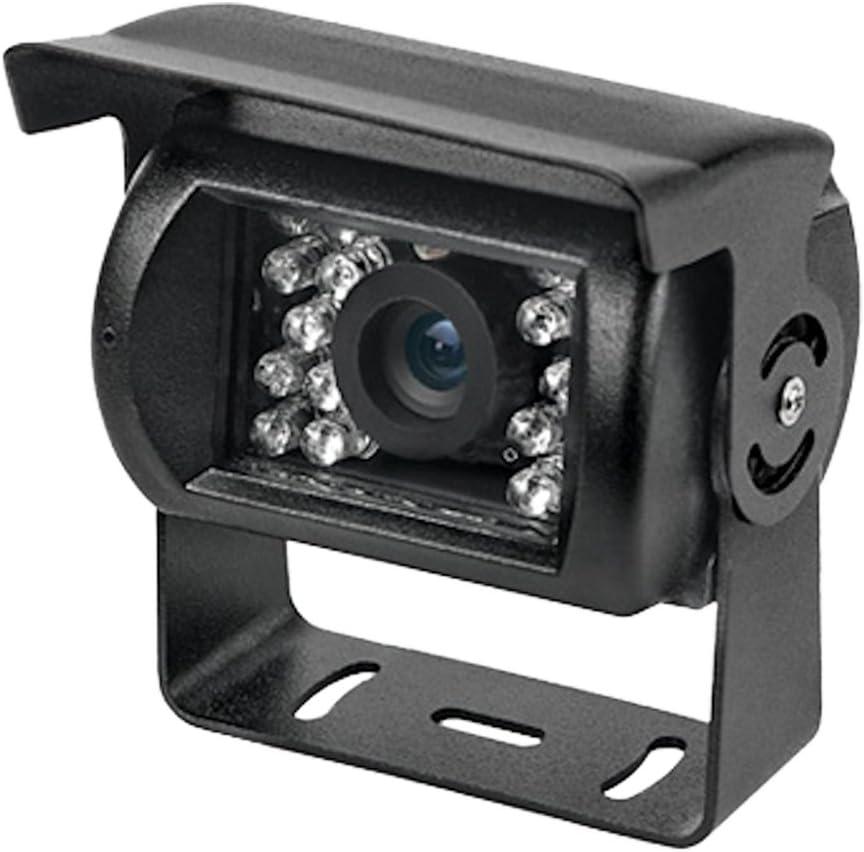 comoda microcamera anche per la videosorveglianza di piccoli ambi una retrocamera con 18 led per facilitare le manovre di parcheggio anche in assenza di luce telecamere per tutti i tipi di camion e suv Telecamera retromarcia notturna per auto con staffa