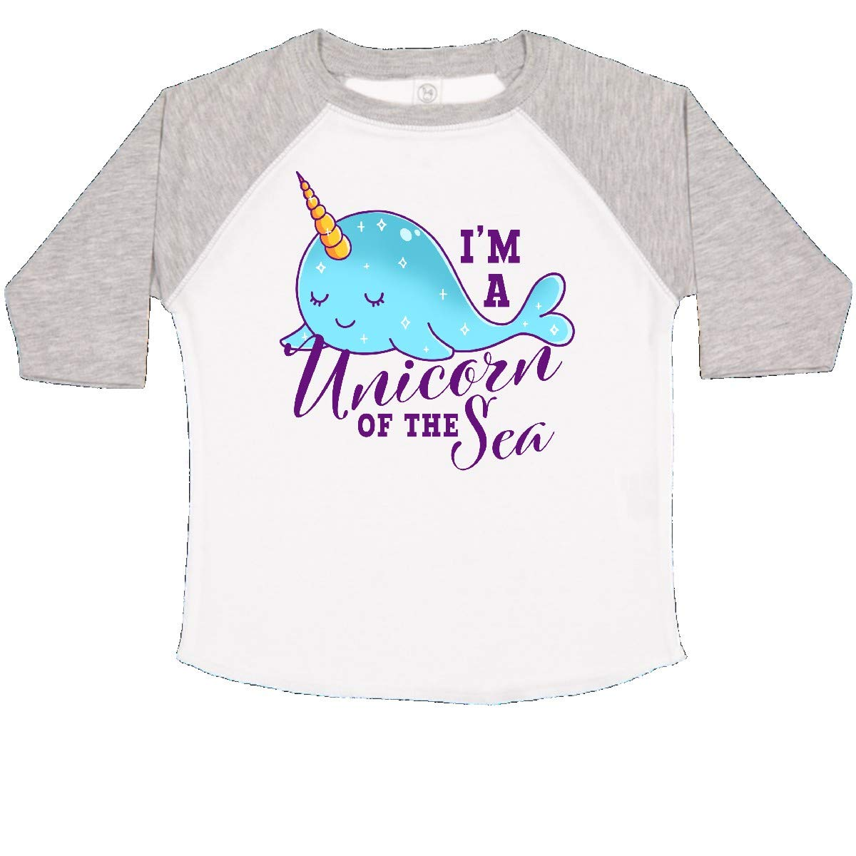 inktastic Cute Narwhal Im a Unicorn of The Sea Toddler T-Shirt