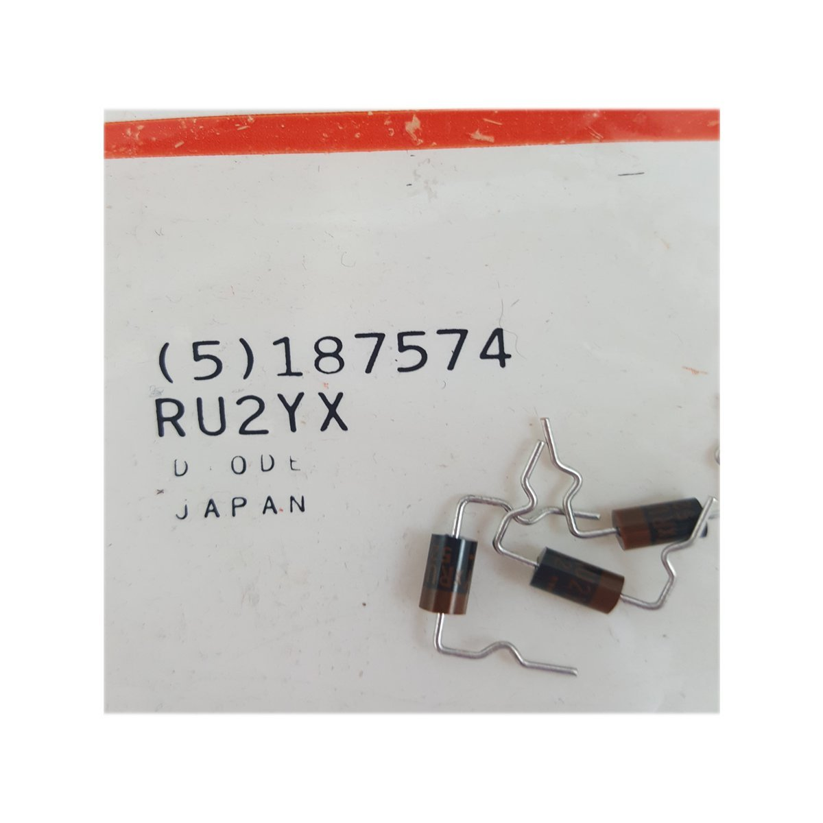 RCA VCR Replacement Part Diode No. 187574 (5 pc)