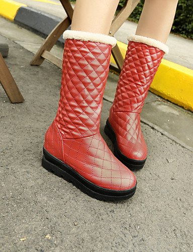 Zapatos Bajo Semicuero Uk6 Trabajo Uk3 Redonda negro Xzz 5 Cn40 Eu39 5 us5 Uk6 Tacón Eu36 Rojo De 5 Punta Cerrada Vestido Mujer Red us8 Casual 5 Botas Cn35 Oficina Y Red dwcII6qS