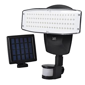Vibelite Solar Lights Outdoor 80 Led Solar Powered Security Lights Waterproof Outdoor Motion Sensor Lighting For
