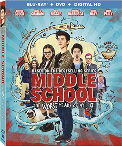 Middle School: The Worst Years Of My Life [Blu-ray + DVD + Digital HD]