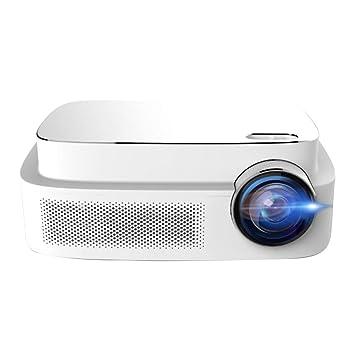 SODIAL Q7 Proyector de Vídeo HD LED, 450 lúmenes ANSI, resolución ...