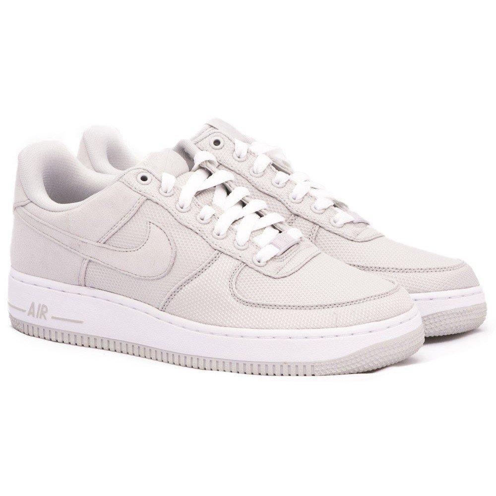 Nike Air Force 1 Low Premium Schuhe neutral grey white 41