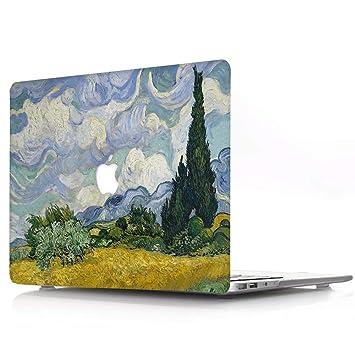 Funda MacBook Pro 13 2019/2018/2017/2016 Plástico Funda Dura Carcasa para MacBook Pro 13 con/sin Touch Bar (A2159/A1989 / A1706 / A1708), R794 Pintura