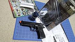 Amazon Com Beretta 92 Fs Spring Pistol Black Medium