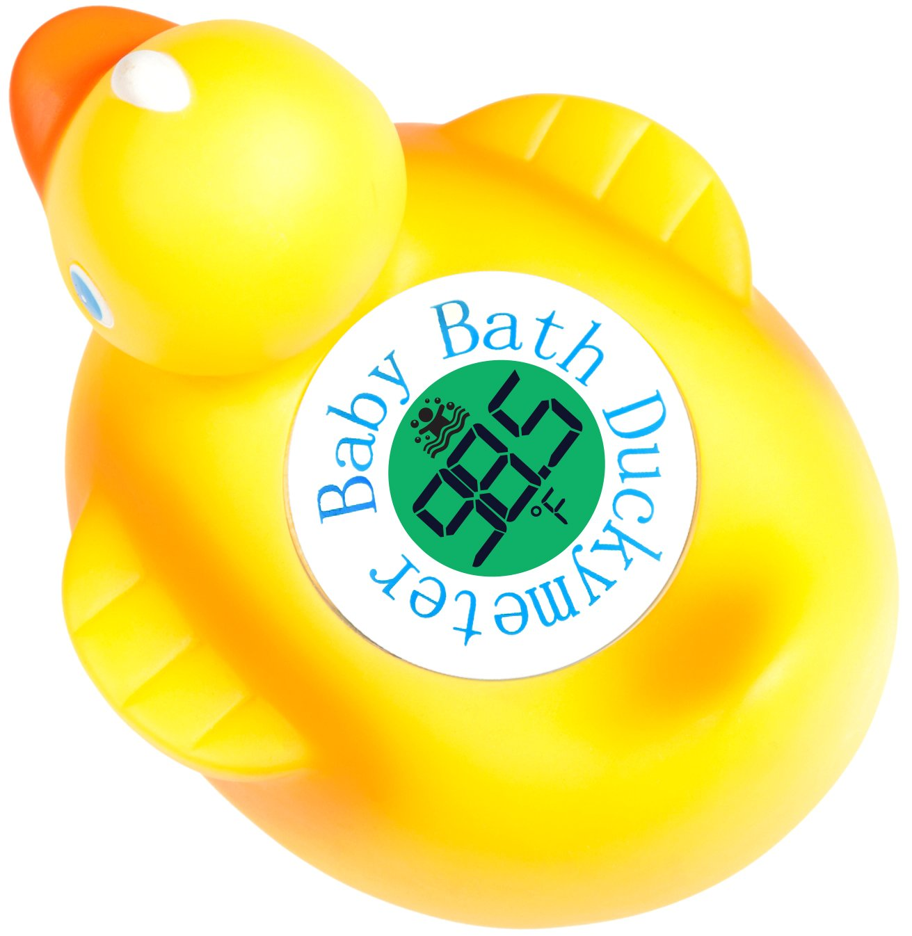 Duckymeter, the Baby Bath Floating Toy and Bath Tub Thermometer ...