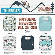 Package - Natural Newborn All In One Hook & Loop - Outdoor Adventure Collection Birdie