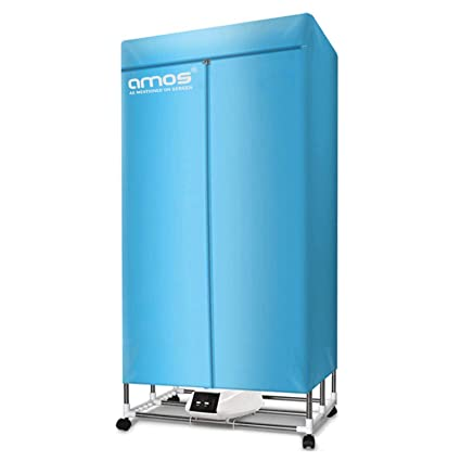Amos Eezy Dry Electric Clothes Dryer 1300w Large Capacity 15kg 25