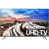 Samsung Electronics UN49MU8000 / UN49MU800D 49-Inch 4K Ultra HD Smart LED TV (2017 Model) (Certified Refurbished)
