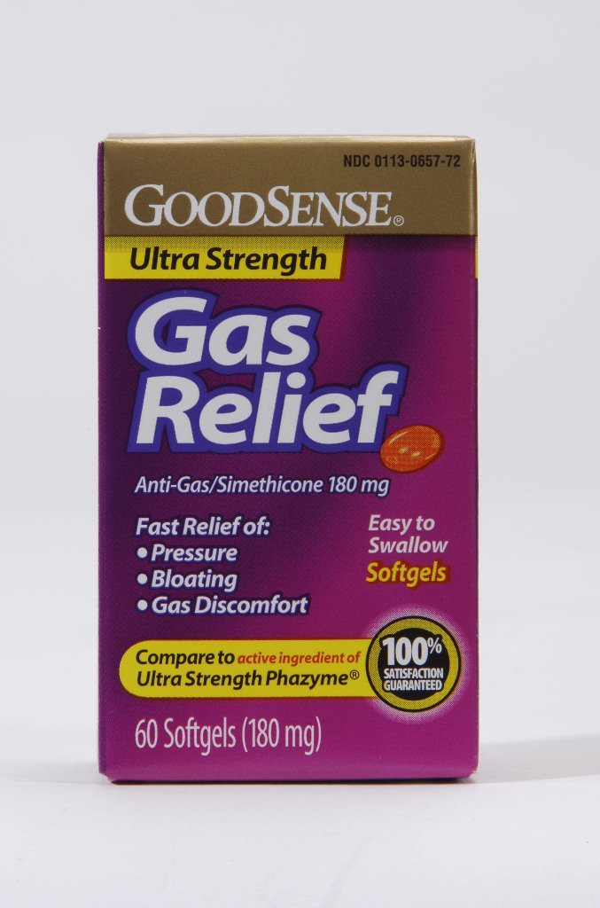 Good Sense Ultra Strength Gas Relief 180 Mg Softgels Case Pack 24 by Good Sense